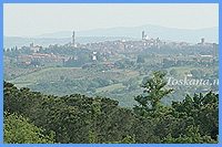 View over Siena