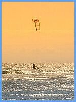 Toskana.net - Camping & Bungalow Baia dei Gabbiani - Water Sports - Kite Surf