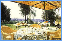 B&B Il Borghetto Country Inn - Breakfast on the terrace