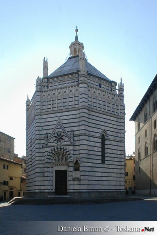 Baptistry San Giovanni - Pistoia