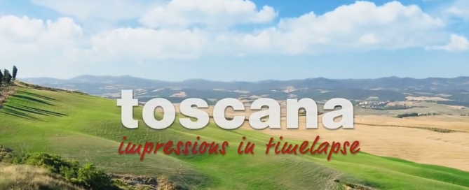 Tuscany in Timelapse