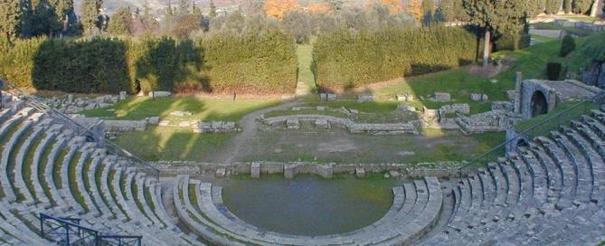 Anfiteatro Fiesole Tuscany