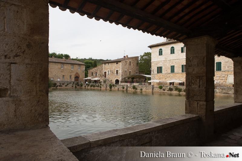 Bagno Vignoni Orcia Valley Tuscany
