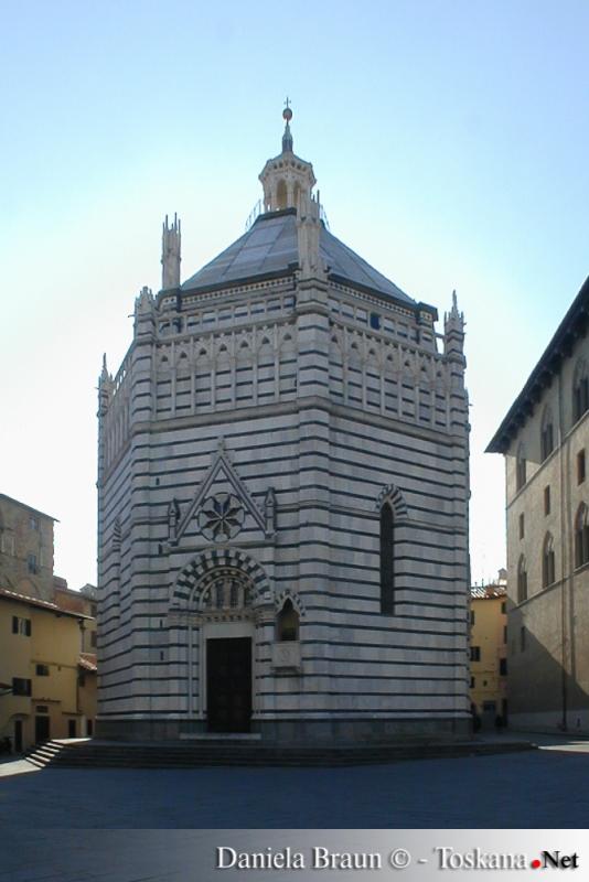 Battistero di San Giovanni in corte a Pistoia