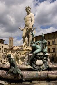 Firenze - Fontana di Nettuno