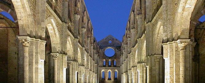 Abbazia di San Galgano - Chiusdino Siena