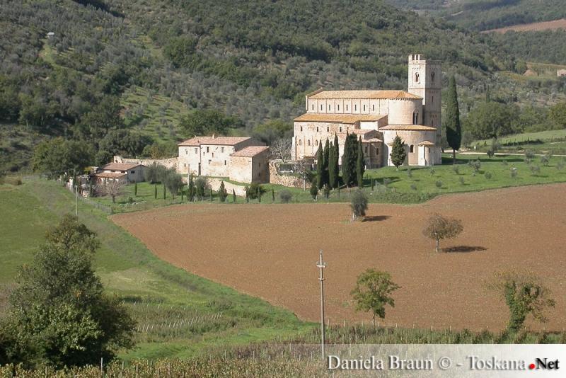 Abbazia di Sant'Antimo in Provincia di Siena