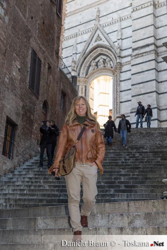 scalinata di piazza San Giovanni - Siena