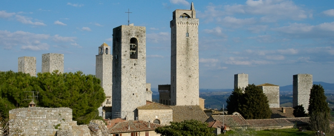 San Gimignano - Siena