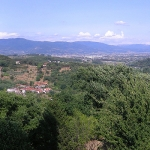 Vista panoramica Pistoia
