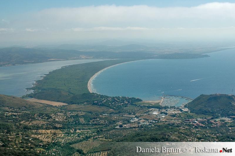 Vista su Porto Ercole e la Feniglia - Grosseto