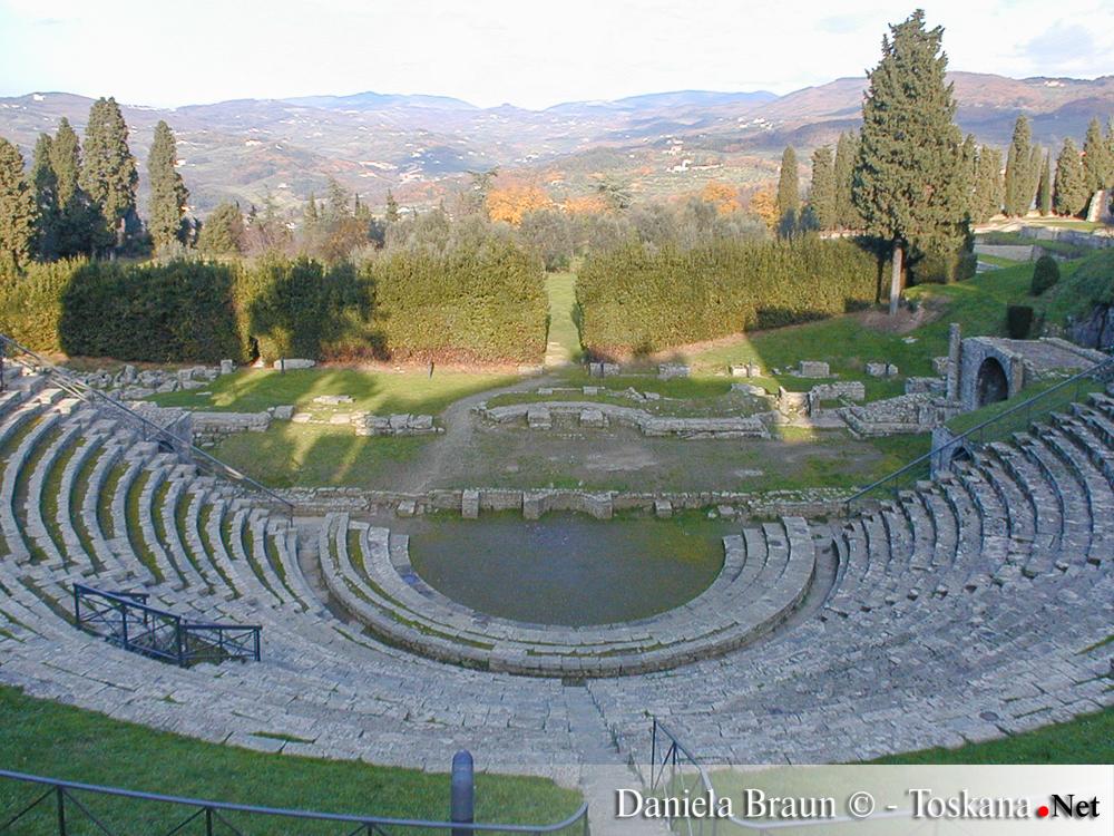 Anfieteatro Fiesole Toscana