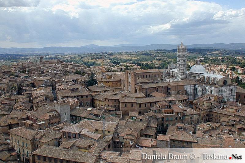 Vista dalla Torre del Mangia - Siena