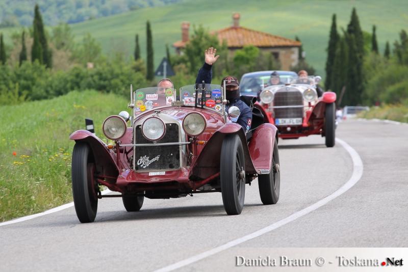 Mille Miglia - gara automobilistica di macchine d'epoca