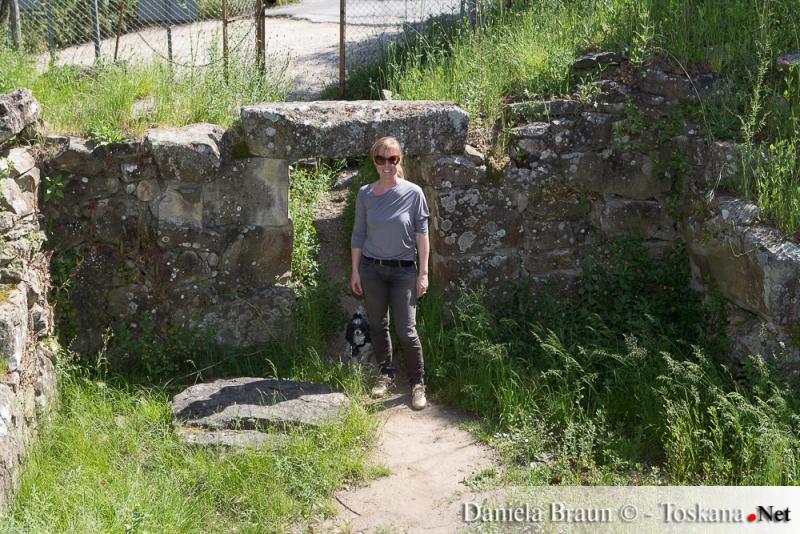 Tomba del Belvedere - Vetulonia  VI Sec. A.C.