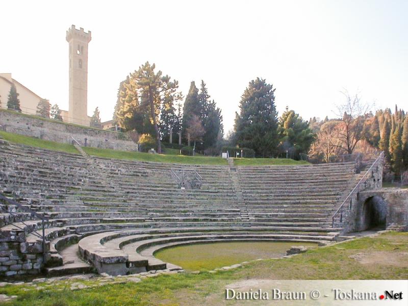 Fiesole, Florenz - Das römische Forum