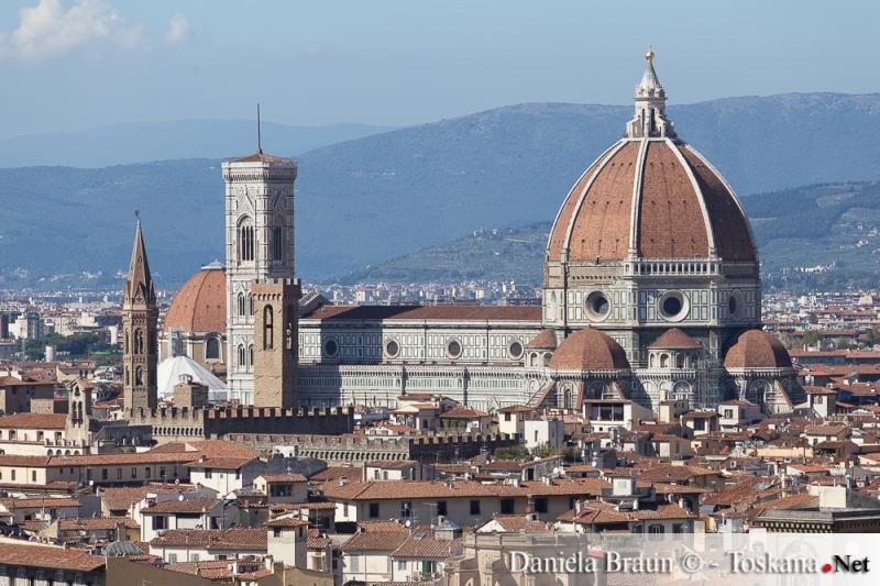 Blick auf den Dom von Florenz