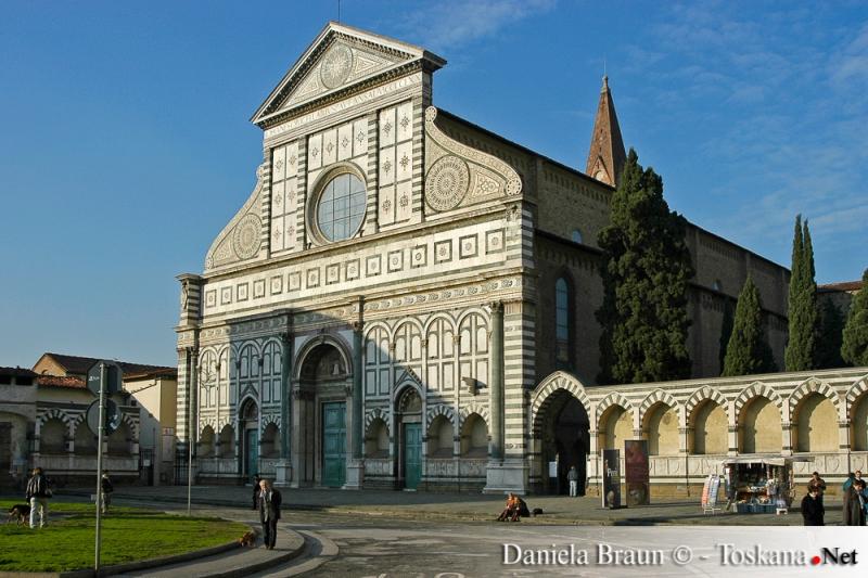 Basilica Santa Maria Novella Florenz - Toskana