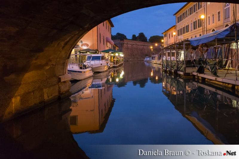 Bootsfahrt durch die Medici Kanäle Fossi Medicei Livorno