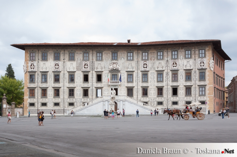 Suola Normale in der Piazza dei Cavalieri Pisa