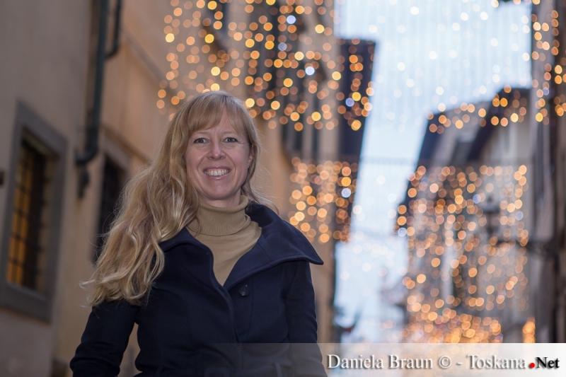 Durch die weihnachtlichen Gassen in Florenz
