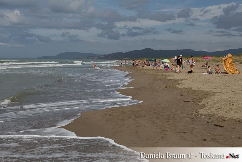 Fuorirotta Bau Beach Marina di Grosseto Maremma Toskana