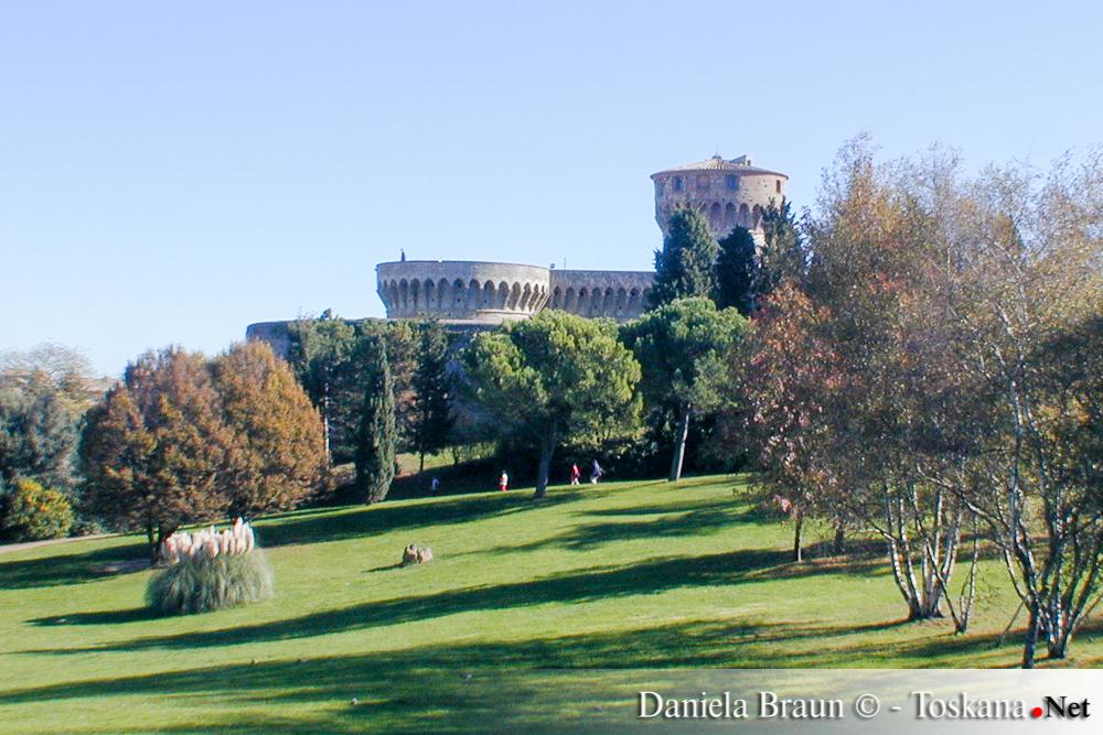 Das Gefängnis von Volterra - Pisa Toskana