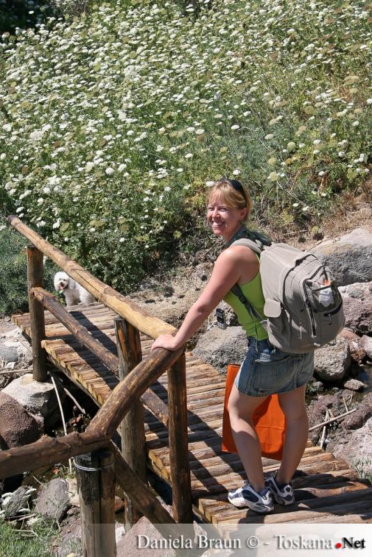 Wandern auf der Insel Capraia
