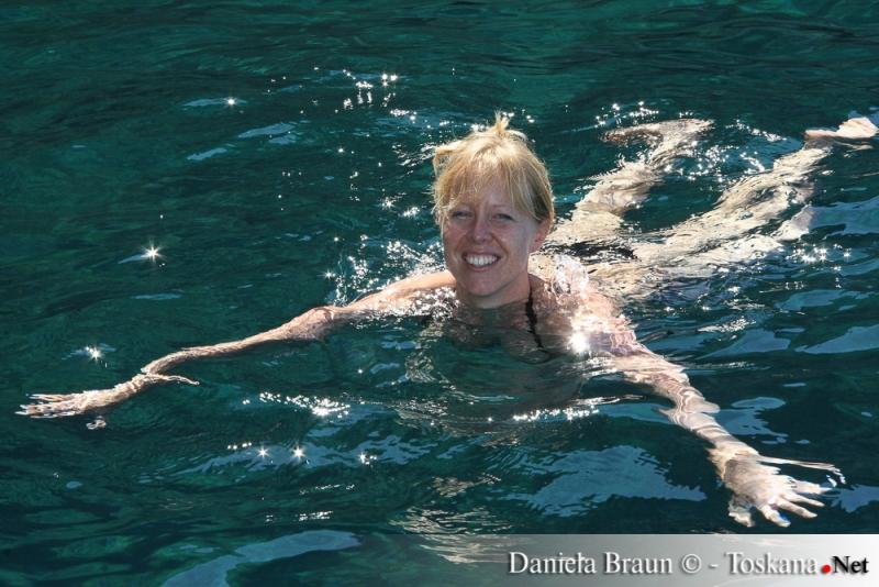 Insel Capraia - ein unvergessliches Bad im traumhaften Meerwasser
