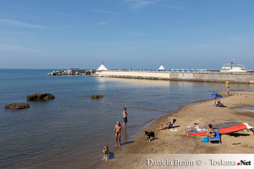 Livorno lungomare Ardenza - Toskana