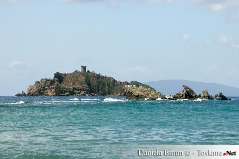 Isolotto dello Sparviero - Punta Ala - Toskanischer Archipel