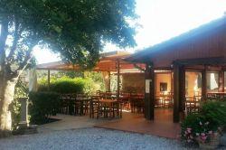 Ristorante dell'Agriturismo vicino Cala Violina Scarlino Maremma Toscana