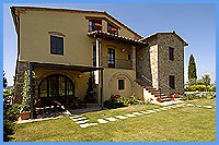 Collerucci - Holiday Apartments with swimming pool Montaione Tuscany