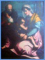 Toskana.net - Villa Ghiaia - Gemälde im Inneren der Privatkapelle