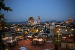 Grand Hotel Baglioni - Restaurant and Terrace Roof Garden above Florence