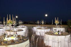 Hotel Garden Siena - Cene romantici, matrimoni sulla terrazza panoramica