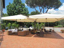 Hotel Garden Siena - La terrazza