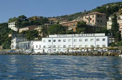 Hotel La Caletta on the sea of Porto Santo Stefano Maremma Tuscany