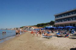 Hotel directly on the sea with private beach in Follonica Tuscany