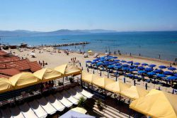 Hotel on the beach in Follonica Tuscany