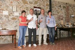 Agriturismo Il Falcone - Owners Paola, Vittorio, Paolo and Rosa