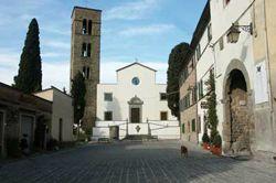 Piazza Colle di Buggiano Pistoia Toscana