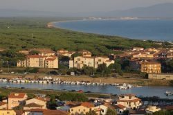 View from Castiglione along the southern Maremma coast