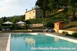Podere Ulimeto Pesciolini - Farmhouse Apartments with pool near Volterra Tuscany