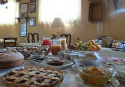 Breakfast at the farmstay