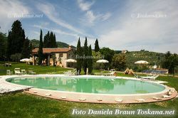 Farmstay with swimming pool near Volterra Tuscany