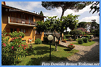 Well-cared apartments with outside sitting space seaside Maremma Tuscany
