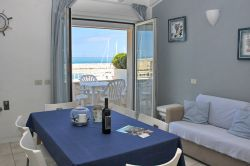 Villa Livia - Apartment No. 7 - Living Room with sea view
