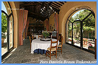 Villa Dievole - One of the Restaurant rooms