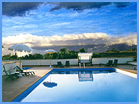 B&B Villa Lavinia - Swimming Pool with view over the Maremma countryide
